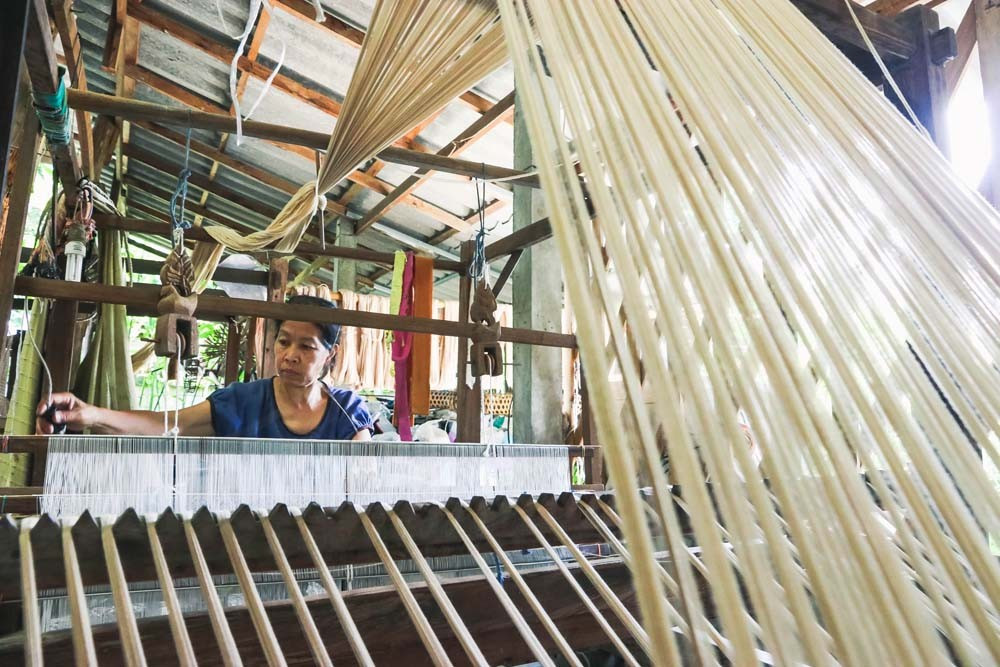 Baan Nong Nguek Cotton Weaving Community