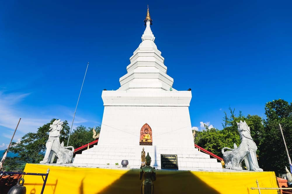 Phra That Doi hang bate寺庙
