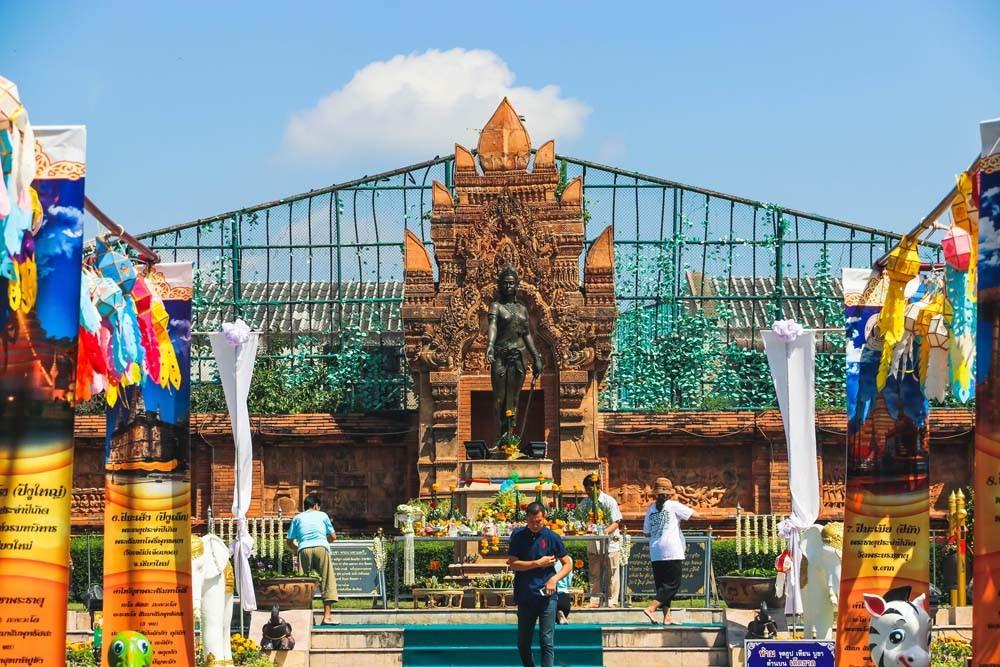 Cham Thewi Monument